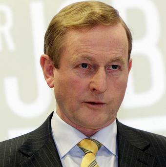 Campaigners want Enda Kenny to apologise for what they say was inaction by the government during the Troubles