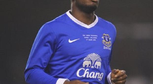 Victor Anichebe is concentrating on establishing himself in Everton's side