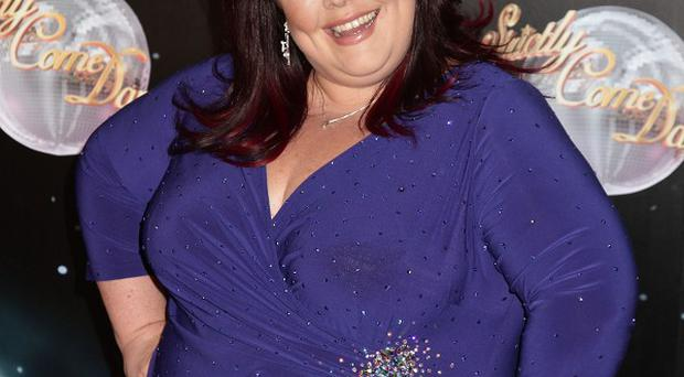 Lisa Riley has 'worn out' her Strictly dance partner