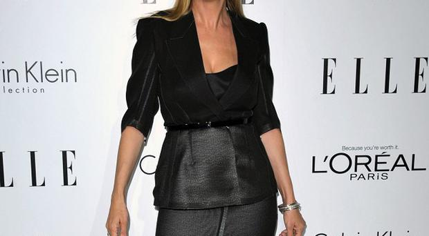 Uma Thurman was honoured at Elle's Women In Hollywood gala