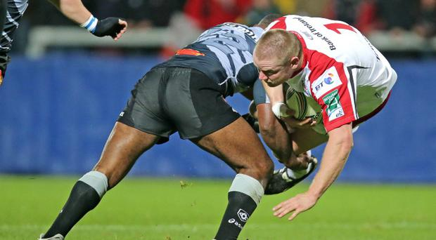 Tom Court takes the game to Castres at Ravenhill in Ulster's big Heineken Cup opener