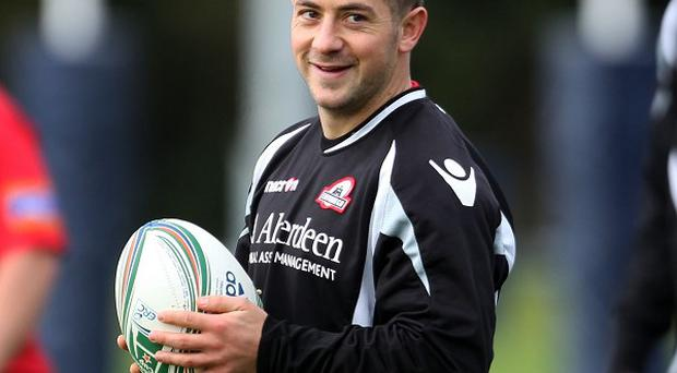 Greig Laidlaw is suffering from a shoulder injury ahead of the Heineken Cup clash with Munster