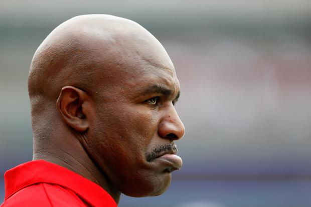 Evander Holyfield has said he would come out of retirement if the price is right