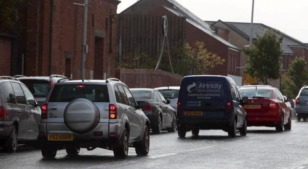 Gridlock: chaos on the Ormeau Road