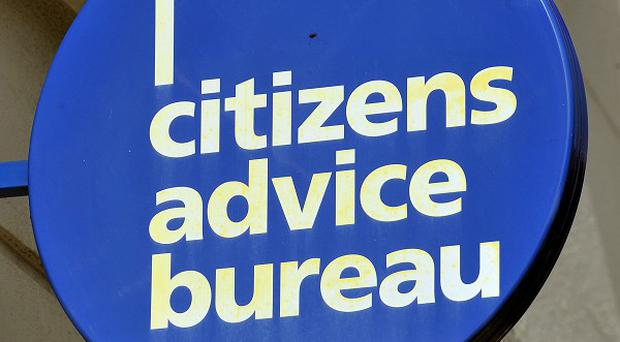 The Citizens Advice Bureau said almost 28,000 ESA-related issues were raised last year