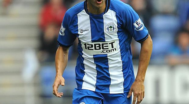 Antolin Alcaraz is closing in on a return from injury