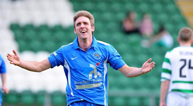 Ballinamallard's Andy Crawford is upsetting the odds again with United top of the table