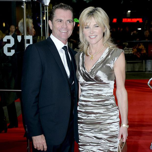 Anthea Turner and Grant Boveyattended a premiere together