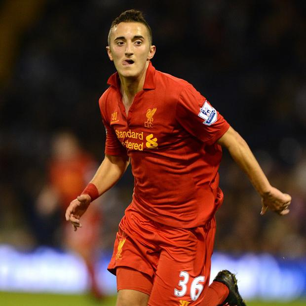 Teenager Samed Yesil is on the fringes of Liverpool's first team
