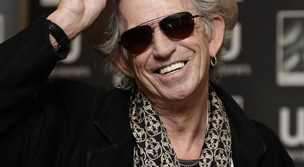 Keith Richards is waiting for a call about the next Pirates Of The Caribbean movie