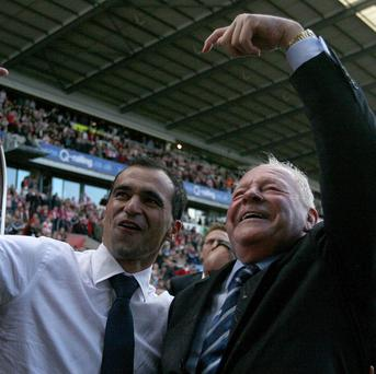 Wigan manager Roberto Martinez prides himself on having a good relationship with chariman Dave Whelan