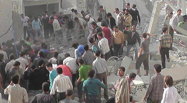 Syrian forces and rebels have been urged to end hostilities during the four-day Eid al-Adha holiday (AP)