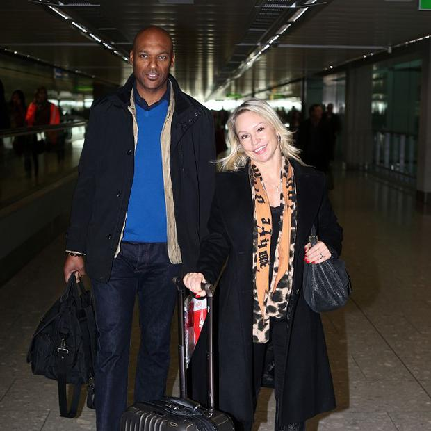 Colin Salmon and Kristina Rihanoff have been rehearsing their dance in Canada