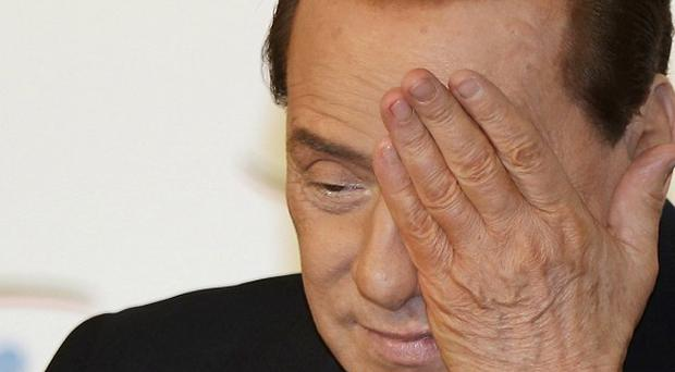 Former Italian Prime Minister Silvio Berlusconi has denied in court having sex with an underage girl. (AP)