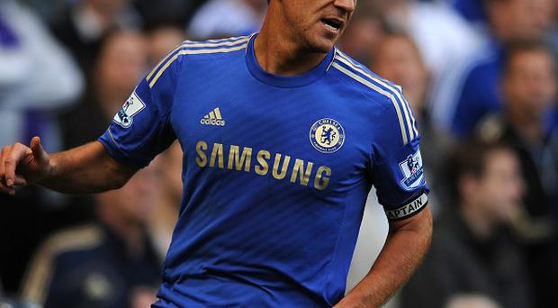 Roberto Di Matteo would not confirm whether or not John Terry, pictured, will carry on as Chelsea's captain