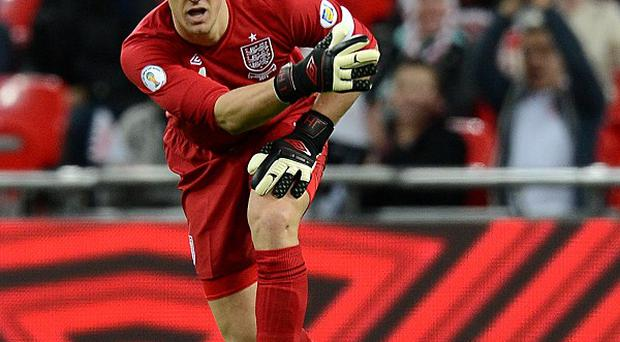 Joe Hart has been defended by his club manager Roberto Mancini
