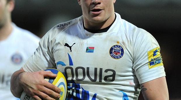 Francois Louw scored in the 79th minute to set up a Bath victory