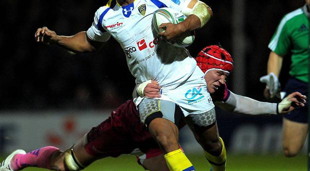 Wesley Fofana scored of pair of tries in Clermont Auvergne's victory at Exeter
