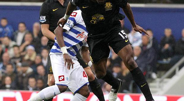 Sylvain Distin's header found its way in via the post and Julio Cesar