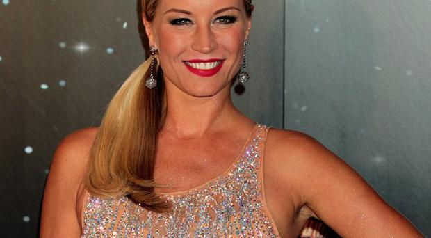 Denise Van Outen wowed the Strictly judges with an 'elegant' quickstep
