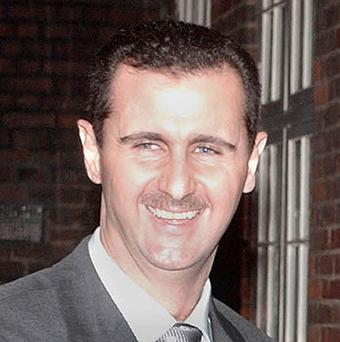 The explosion struck as president Bashar Assad opened talks with visiting UN peace envoy Lakhdar Brahimi