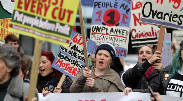 ©Press Eye Ltd Northern Ireland - 20th Ocotober 2012Mandatory Credit - Picture by Darren Kidd /Presseye.comNorthern Ireland trade unions march against government cuts as thousands of people take part in an anti-austerity rally in Belfast, in protest at cuts being introduced by the government at Westminster.The demonstration has been organised by the Northern Ireland Committee of the Irish Congress of Trade Unions.