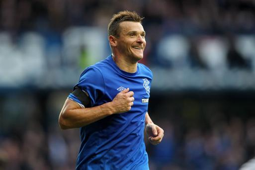 Lee McCulloch scored twice against Queen's Park