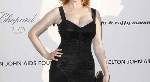 Christina Hendricks said she loved her character in Ginger And Rosa