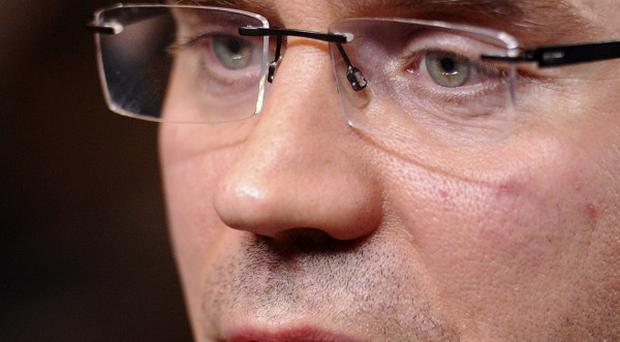 Finland's prime minister Jyrki Katainen was the target of a knife attack (AP)