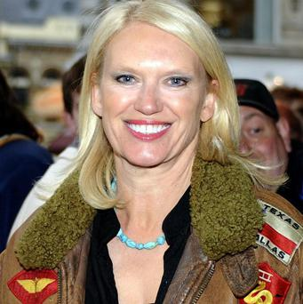 Anneka Rice said her children use her jumpsuits for fancy dress parties