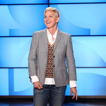 Ellen DeGeneres was awarded the Mark Twain Prize for American Humour (AP/Warner Bros, Michael Rozman)