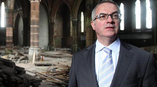 Environment Minister Alex Attwood has given the go-ahead for a 50 million pounds development in Newtownards