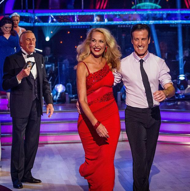 Jerry Hall and Anton Du Beke were planning to dance to a Rolling Stones track