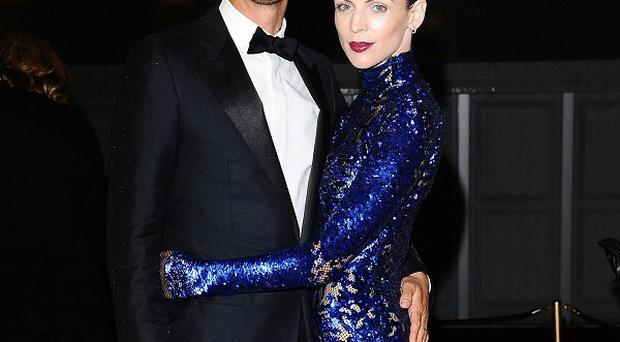 Liberty Ross has said she is 'happy' following revelations of her husband Rupert Sanders' affair