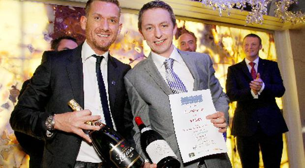 Former winner and chairman of the judges Peter Avis of Babylon, Roof Gardens and RMY winner Peter McAlister