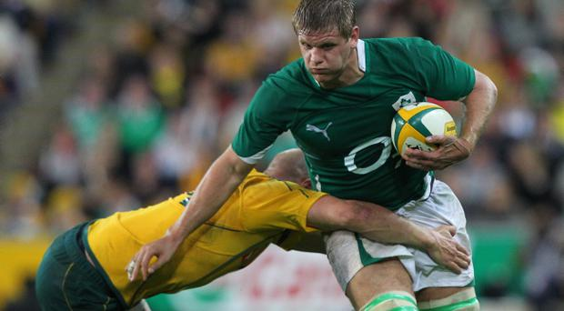 Chris Henry's excellent form could see him make the starting side to play South Africa next month