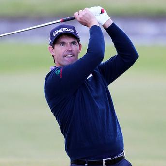 Padraig Harrington has been called into this week's four-man PGA Grand Slam of Golf