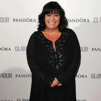 Dawn French is pleased her new man has never watched her TV shows