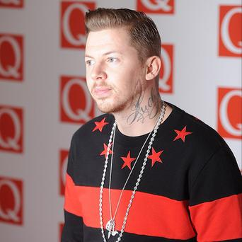 Professor Green has learned not to take Twitter too seriously