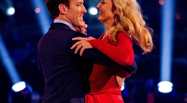 Anton du Beke thinks Jerry Hall deserved to stay in Strictly at the weekend