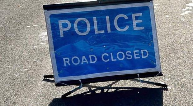 A man has handed himself into police after a girl aged four was injured in a road accident