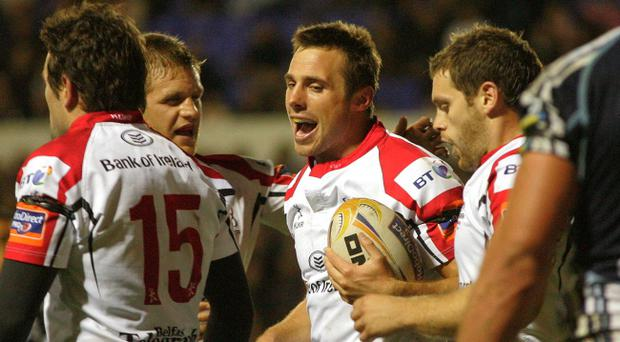 Tommy Bowe is one of 10 Ulster players to be selected for Ireland