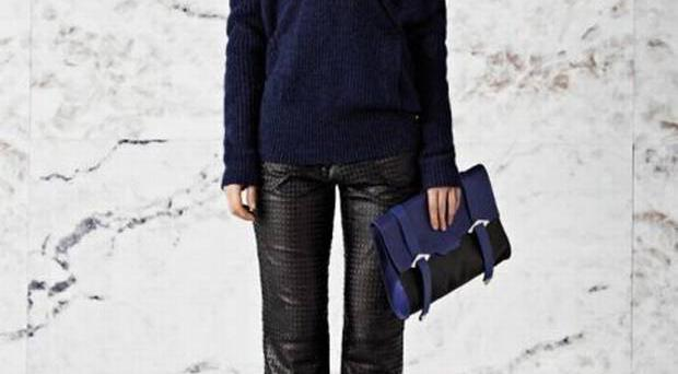 Trousers £250, bag £149, reiss.com