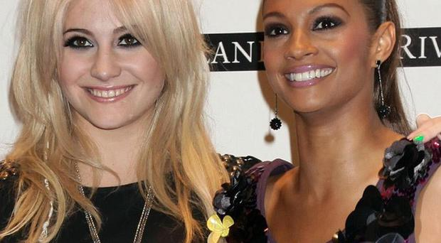 Pixie Lott and Alesha Dixon performed at a concert launching the Royal British Legion Poppy Appeal