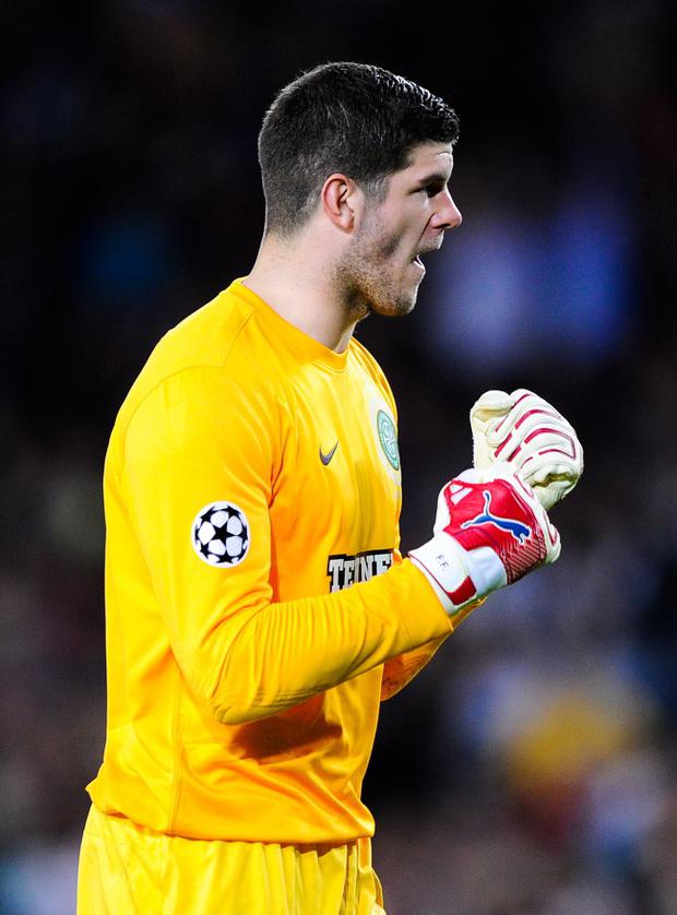Fraser Forster says Celtic can live with the best
