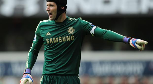 Petr Cech is hoping Chelsea can bounce back against Manchester United after the Blues' Champions League defeat on Tuesday