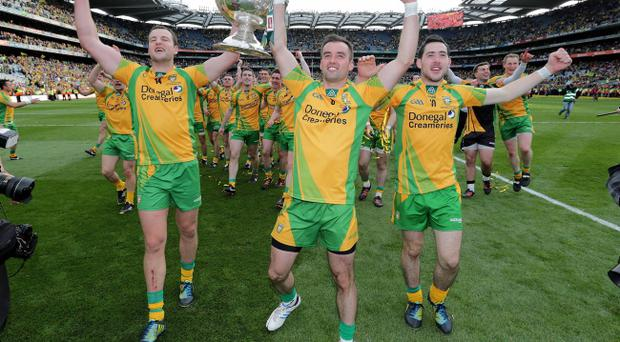 Michael Murphy, Karl Lacey and Mark McHugh have all been named in the Allstars team
