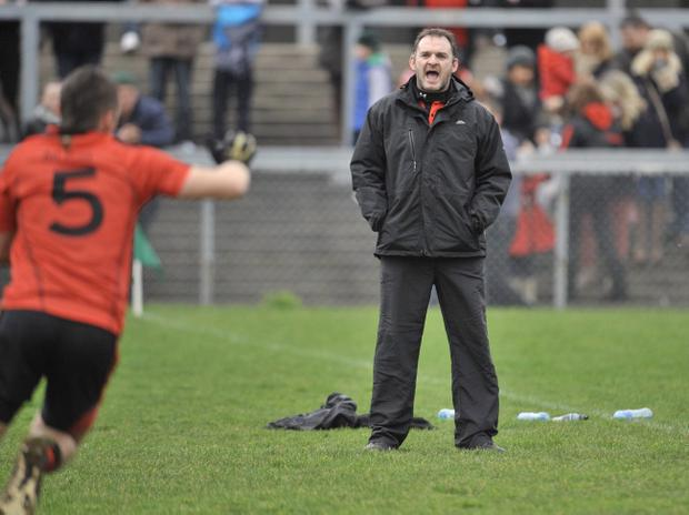 Armagh 2002 All-Ireland winner Aidan O'Rourke is one of the new breed of county managers having just taken over the Louth reins