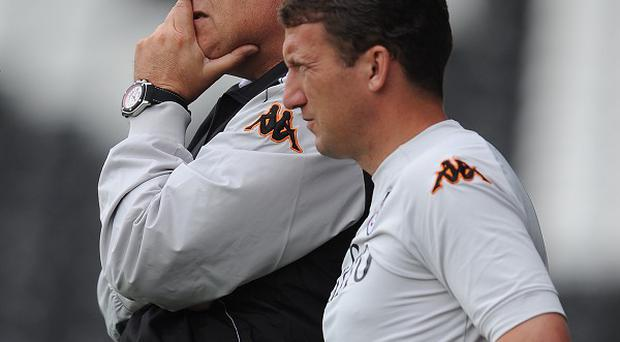 Fulham boss Martin Jol rejected an approach from Blackburn for first-team coach Billy McKinlay