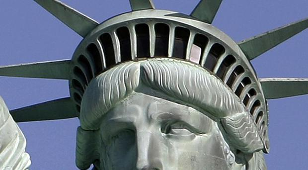 The Statue of Liberty has been closed since last October for renovation to its interior (AP)